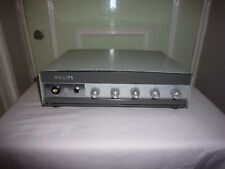 Vintage philips valve amplifier