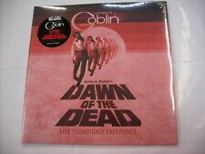 GOBLIN - DAWN OF THE DEAD LIVE - LP BLACK VINYL NEW SEALED 2018