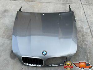 2007 2008 2009 2010 2011 2012 BMW X5 E70 FRONT HOOD GRAY OEM 07 08 09 10 11 12