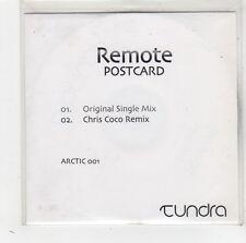 (FW47) Remote, Postcard - DJ CD