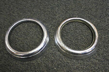 Pair of Chrome Headlight Rings for Mercedes Benz 300SL Gullwing / Roadster