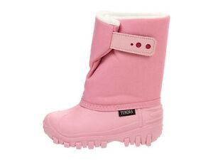 Little Girls Snow/Winter Boots  Light Pink Teddy Temp Rated -26 °F   Size 11