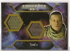 Stargate Heroes DUAL Costume Card Teal'c Chris Judge
