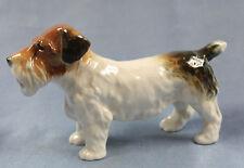 Terrier hund porzellan hund figur jagdhund Ens hundefigur li