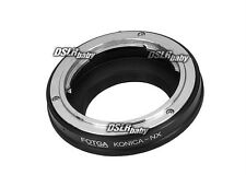 Fotga Adapter Ring for Konica AR Lens to Samsung NX Mount Camera Body NX5 NX10