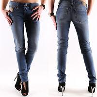 New Diesel Grupee super slim Damen Jeans Hose W L 27 28 30 31 32 neu