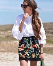 Faldas de mujer Zara color principal multicolor