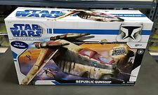 Republic Gunship STAR WARS The Clone Wars TCW WALMART Exclusive MIB