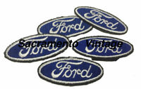 FORD SMALL  Embroidered Patches - 5 Patches