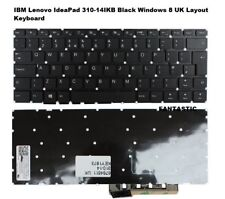 layout UK NERO IBM LENOVO IDEAPAD 310-14isk Windows 8 TASTIERA