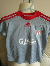 """Liverpool Grey Away Shirt 2008/09 - 24""""-26"""""""