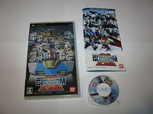 Mobile Suit Gundam vs Gundam Playstation Portable PSP Japan import US Seller (B)