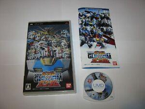 Mobile Suit Gundam vs Gundam Playstation Portable PSP Japan import US Seller (B)