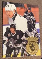 1994-95 Fleer Ultra Hockey Scoring Kings 4 of 7 Wayne Gretzky Near Mint