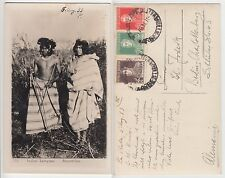 Argentinien Argentinia Indios Lenguas Ethnic type native indians RPPC 1933