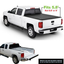 New Roll Up Tonneau Cover For 2007-13 Chevy Silverado GMC Sierra 5.8' Short Bed