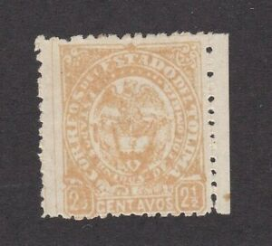 Colombia States Tolima #46 Mint Full OG Edge Margin Exceptional Copy