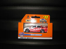 MATCHBOX HOLDEN COMMODORE RED / WHITE MATTEL WHEELS AUSTRALIAN ADVENTURE SERIES
