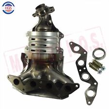 EXHAUST MANIFOLD With CATALYTIC CONVERTER FOR HONDA CIVIC 1.7L L4 SOHC NEW