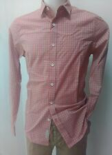 CAMICIA SLIM FIT QUADRETTINI UOMO CALVIN KLEIN TG XL