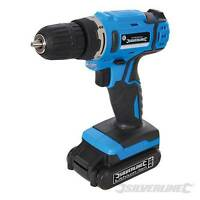 HEAVY DUTY SILVERLINE 18V LITHIUM LI-ON CORDLESS DRILL DRIVER SCREWDRIVER