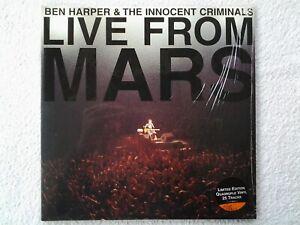 4 × Vinyles lp's BEN HARPER & THE INNOCENT CRIMINALS. Live From Mars (Org 2001)