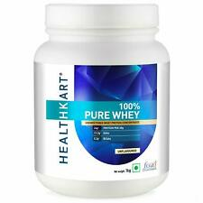 HealthKart 100% Pure Raw Whey Protein Concentrate 1 Kg (Unflavoured) Free Ship