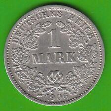 Kaiserreich 1 Mark 1906 J gutes sehr schön seltener nswleipzig