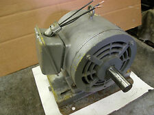Sterling H-Duty 3 HP electric motor 3 phase 230/460v. 1740 rpm runs great quiet
