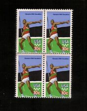 US Stamps 1790 Summer Olympics 10c  Block Of 4 MINT NH OG 1979