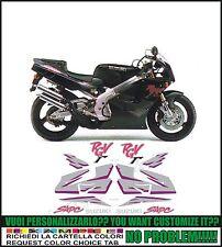 kit adesivi stickers compatibili rgv 250 gamma 1993 black