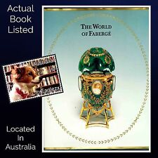 The World Of Faberge Catalogue Moscow 1996 Hardcover / DJ Australian Exhibition