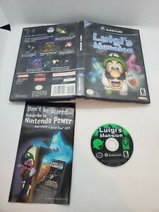 Luigi's Mansion (Nintendo GameCube, 2001) - Game W/ Manual