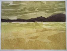 JOHN BRUNSDON limited edition FRAMED WELSH pencil signed Etching SNOWDON WALES