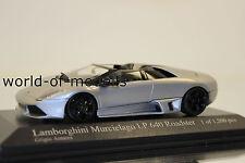 Minichamps 400103931 LAMBORGHINI MURCIELAGO LP 640 Roadster gris 1:43 NUEVO