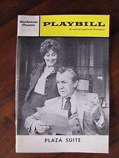 1969 Playbill Plaza Suite Blackstone Theatre Forrest Tucker Betty Garrett