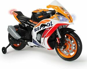 Moto Repsol 12V Arancione con Licenza Ufficiale