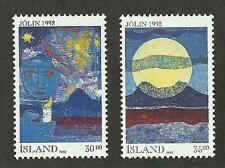 Iceland 760-761 (1992) Mnh/Ognh; Xf/S & Vf/Xf {Illustrated} 2 Stamps