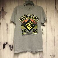 Rocawear Mens Medium Gray NYC 1999 Shirt Its Not Where Youre From