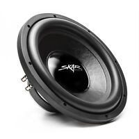 "NEW SKAR AUDIO IX-12 D4 12"" 500 WATT MAX POWER DUAL 4 OHM CAR SUBWOOFER"