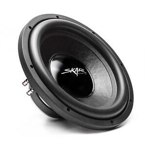 "NEW SKAR AUDIO IX-12 D4 12"" 500 WATT MAX POWER DUAL 4 OHM CAR SUBWOOFER"