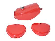 Lackset Tank + Seitendeckel rot pas. für Simson S51 S50 S70 Kraftstoffbehälter