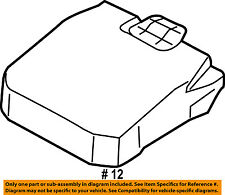 FORD OEM Battery-Access Cover EJ7Z10A659C