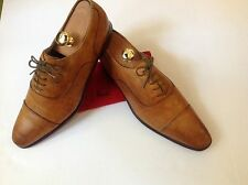 Paul Smith - PAIR OF TAN HANDCRAFTED CAPTOE SHOES** - SIZE 10UK/44 EURO