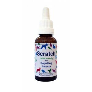Phytopet Herbal Remedies Scratch 30ml Dog Cat repel fleas ticks