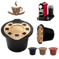 KE_ Stainless Steel Refillable Coffee Capsule Filter for Nespresso Machine
