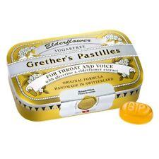 Grether's Pastilles Sugar Free Elderflower Pastilles 2.125 oz.