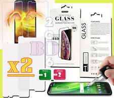 2x Tempered Glass 9H,9D Screen Protector For Motorola G7 Power/G8 power/E5/G6/G7