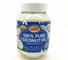 KTC 100% Pure Coconut Oil for Hair, Skin care, Oil Pulling, Cooking 500ml