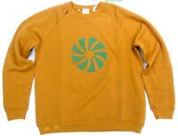 Levis Vintage Clothing Casuals 1960s Crew Sweatshirt Peanut Green Levis LVC Levi